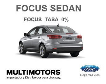 Ford New Focus S Se Plus & Titanium - 2018 - Desde U$s25.590