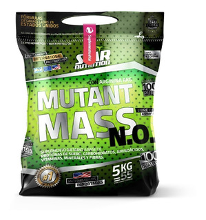 Ganador De Peso Mutant Mass Star Nutrition 5 Kg