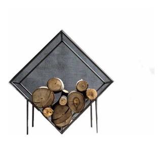 Leñero Para Interior - Canasto Para Leña + Envío Gratis