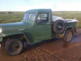 Jeep Willys Pick Up Nueva Pick Up 4x4 Nafta