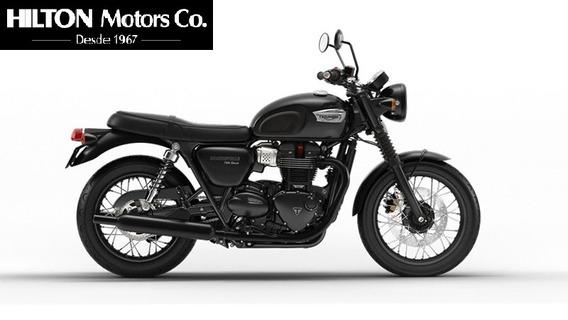 Triumph Bonneville T100 Black, 0km.(2019-entrega Inmediata)