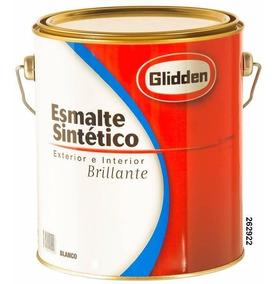 Esmalte Sintético Glidden Brillante 1 Lt Varios Colores Inca
