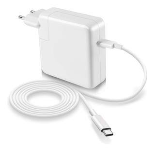Cargador + Cable Usb 3.0 Tipo-c 61w Macbook Pro Carga Rápida
