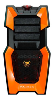 Gabinete Cougar Challenger Orange Usb 3.0 7 Fans Gamer 3dtt