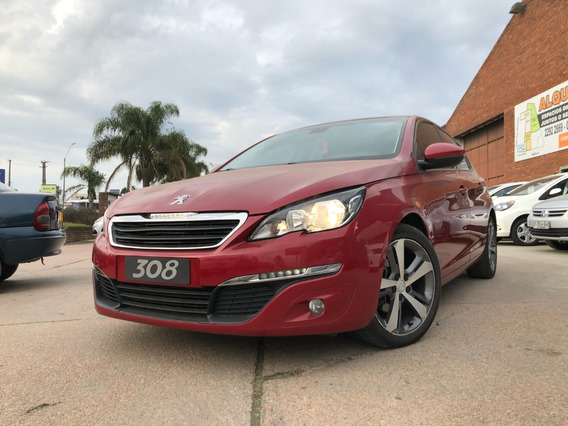 Peugeot Usado 308 Rojo 1.2 Turbo