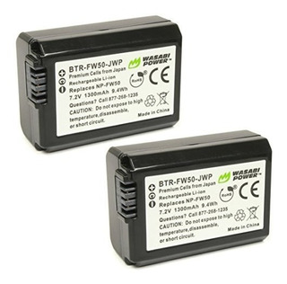 Batería Wasabi Power 2-pack Para Sony Np-fw50 (compatible Co
