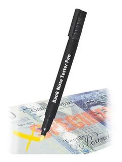 Lapicera Detector De Billetes Falsos Lapiz Dolares Y Pesos ®