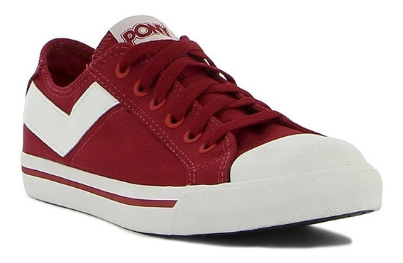 Pony Calzados Shooter Ox Canvas Red