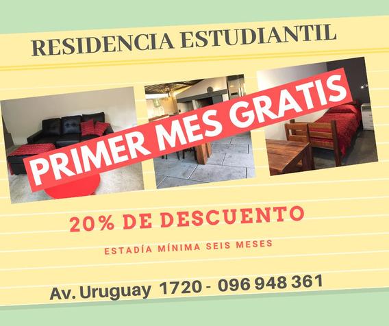 Residencia Estudiantil - Alojamiento En Montevideo. Promo