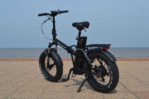 Moto Bici Eléctrica Urban Halley Folding Patona