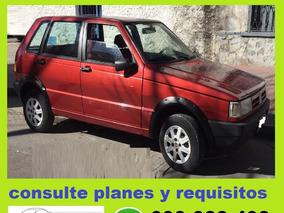 Fiat Uno Cl 2002 100% Financiado En 48 De $ 6300 Por Mes