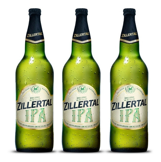 Cerveza Zillertal Ipa 970 Cc X3