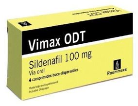 Vimax Odt Roemmers 100 Mg 4 Comprimidos