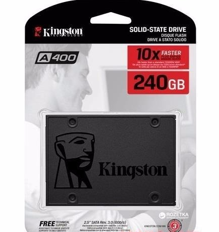 Disco Solido Ssd Kingston A400 240gb 2.5 3.0 6gb/s