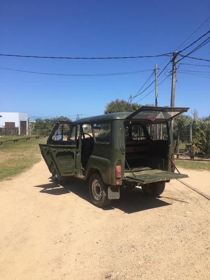 Jeep Uaz Diesel 4x4 Año 2002 Andando Impecable, 099036749