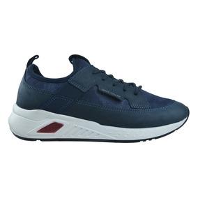 Zapato Deportivo West Coast Angus Navy - Toto