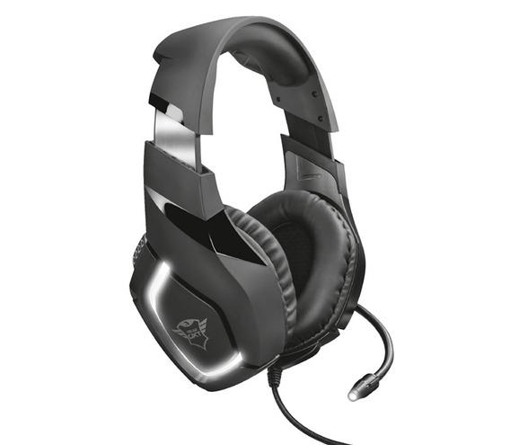 Auricular Trust Gxt380 Headset Gaming Gamer Pc Retroiluminad