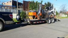 Fletes Traslados Tractor Elevador Maquinaria Bobcat Chata