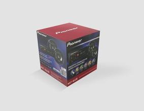 Combo Pioneer Auto Radio Mxt-86ub + 2 Parlantes 6