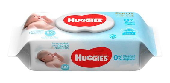 Huggies Toallitas Recién Nacido 80 - Bebés Y Niños