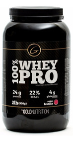 Proteina Whey Protein 100% Whey Pro Gold Nutrition 2 Lb