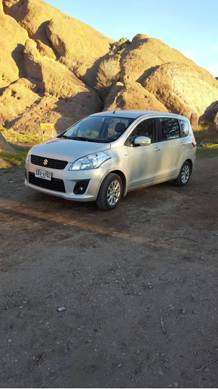 Suzuki Ertiga 2015 7 Pers Unico Dueño Serv Ayax 89500 Km