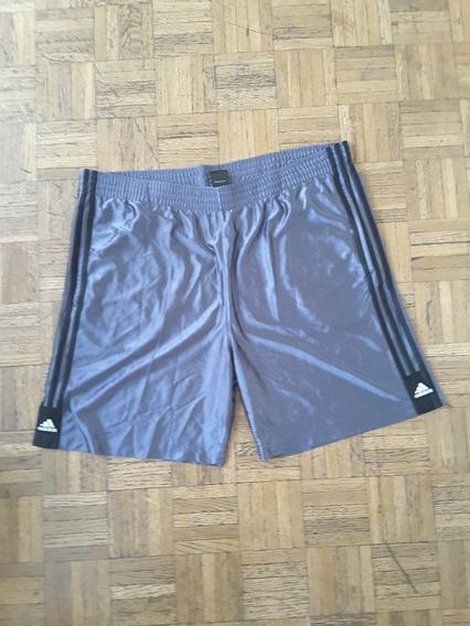 Short Bermuda Hombre adidas Xl Gris Bolsillos