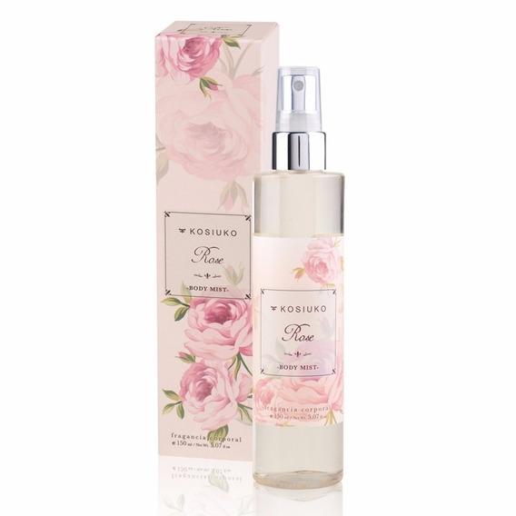 Perfume Body Mist Kosiuko Rose 150ml