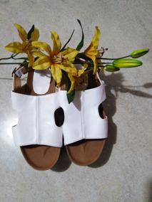 Sandalia Plataforma Blanca Talles 37(24cm) 39(26cm) $ 399