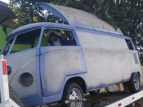 Volkswagen Vw Kombi Food Truck Ou Camper Para Terminar Refor