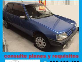 Peugeot 205 Junior 100% Financiado Solo $ 3990 Por Mes