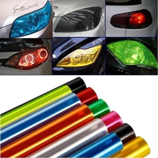 Film Adhesivo Tuning Faroles Auto Moto Vidrios 30cmx1m F23