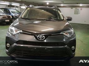 Toyota Rav4 Limited 2017 Gris Oscuro Excelente Estado