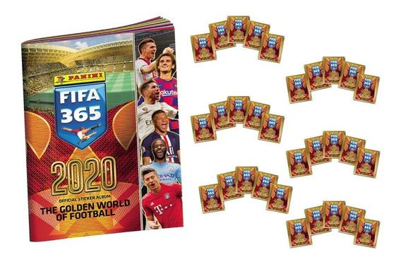 Panini Fifa 365 2020 - 30 Sobres + Album De Obsequio