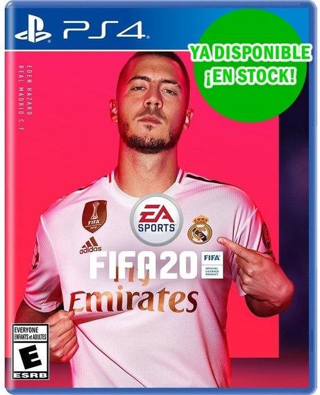 Juego Original Fisico Play Ps4 Fifa 20 2020 Nuevo Sellado