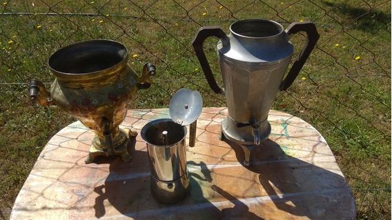 3 Cafeteras Retro Antiguas Coleccionables