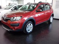 Renault Sandero Stepway Anticipo $166.000 + Cuotas Fijas