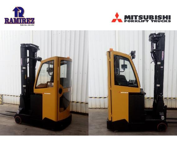 Autoelevador,montacarga Retráctil Eléctrico Mitsubishi 1400
