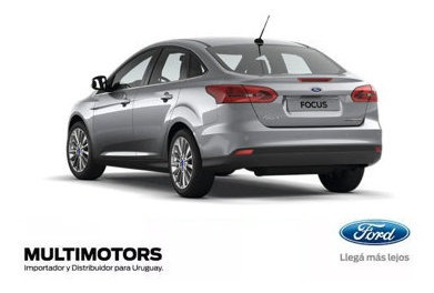 Ford New Focus S 1.6 - 2018 - U$s25.590