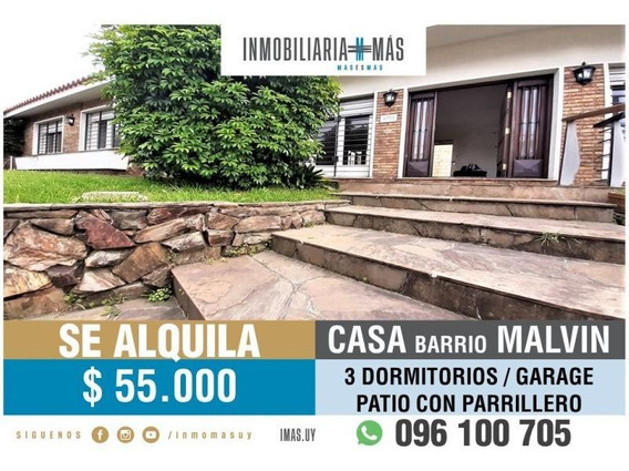 Alquiler Casa Malvin, Montevideo Imas.uy V*