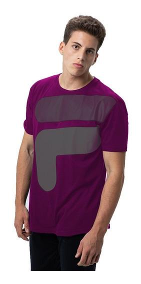 Camiseta Remera Fila Floating Oversized De Hombre Casual