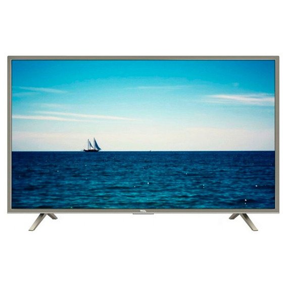 Tv 50 Led Tcl Uhd 4k Smart Isdbt + 2 Años De Garantia