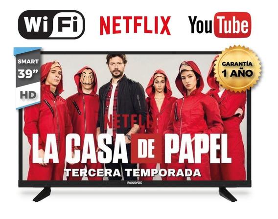 Tv 39 Smart Led Panavox Full Hd Usb Hdmi Wifi Envio Gratis