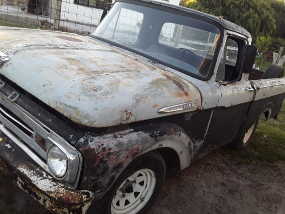 Ford 100, Modelo 61. Motor Perkin Impecable
