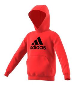bed6cd301 Canguro Buzo adidas Logo Hood De Niño Niña Abrigo