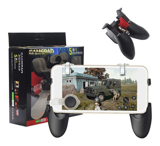 Gatillos Gamepad Joystick Pubg Mobile Smartphone 5 En 1