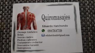 Quiropráctico. Especialista En Ajustes Columna, Pinzamieto