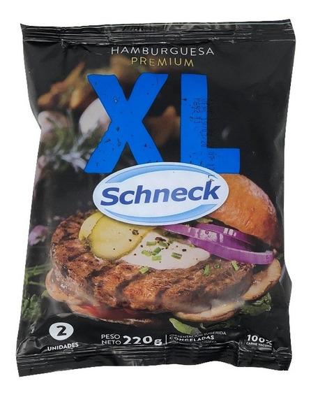 Hamburguesa Premium Xl Schneck X 60 Unidades
