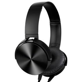 Auriculares Extra Bass C/ Micrófono Cable Plano Colores Loi