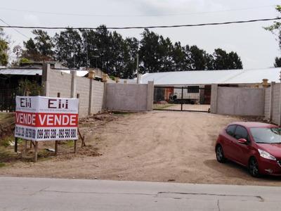 Terreno Nivelado Cercado Con Gran Galpon Hecho A Nuevo